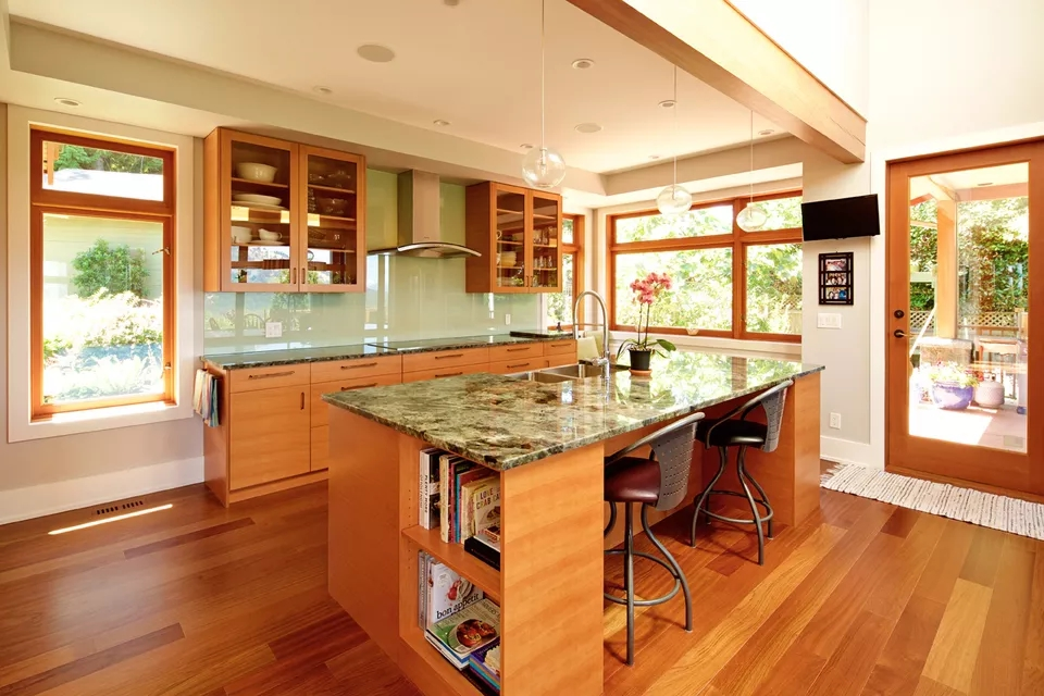 Titanium Granite Kitchen Countertop